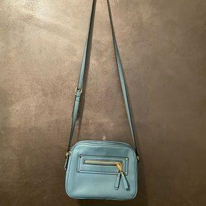 Liz Claiborne blue shoulder purse/bag